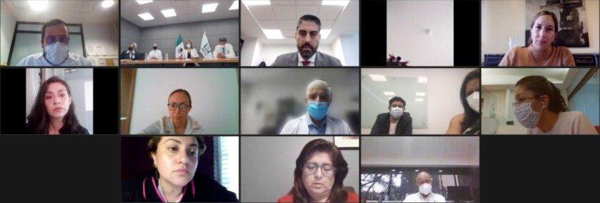quincuagésima reunión con las madres y los padres de menores con cáncer en su modalidad virtual.