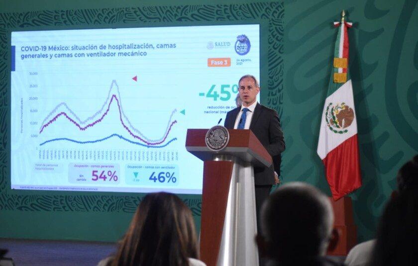 subsecretario de Prevención y Promoción de la Salud, Hugo López Gatell Ramírez