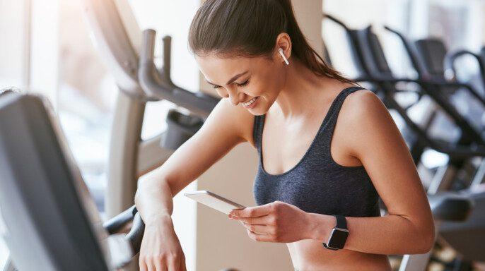 Chica en gym