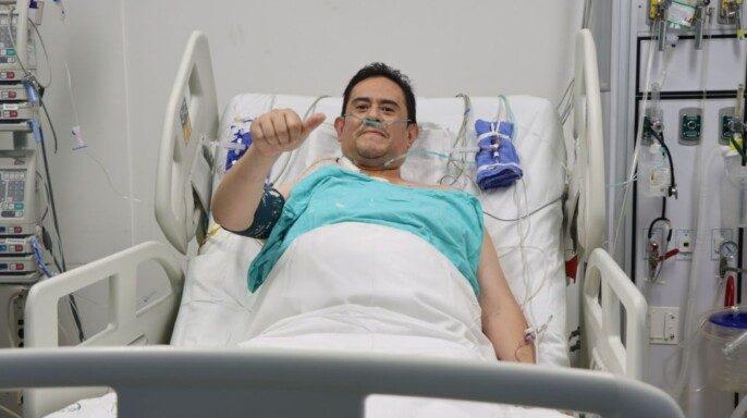 eceptor del corazón es un paciente de 45 años atendido en la UMAE Hospital de Cardiología de Centro Médico Nacional Siglo XXI.