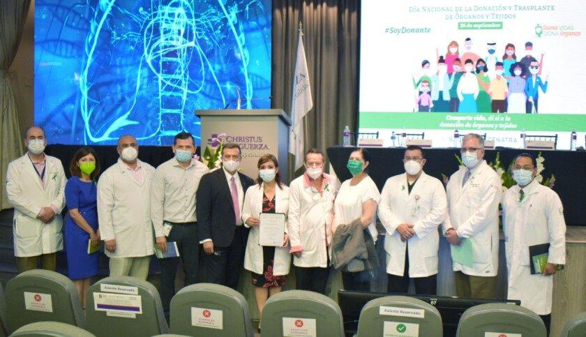CENATRA reconoce destacado desempeño en reactivación de donación y trasplantes del IMSS