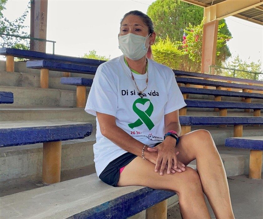 Isabel, la corredora trasplantada