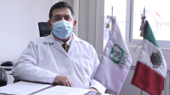 doctor Pedro Paz Solís, coordinador de Donación y Trasplante de Órganos, Tejidos y Células del IMSS