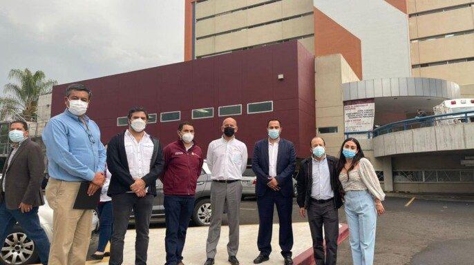 nsabi rehabilita cuarto de máquinas y sistema de aire acondicionado en tres hospitales de Baja California