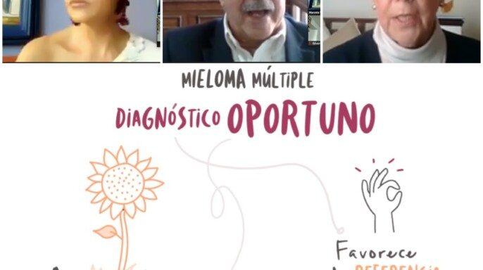 Conferencia de prensa virtual - Reconocimiento, atención y tratamiento temprano del Mieloma Múltiple para extender la calidad de vida de los pacientes