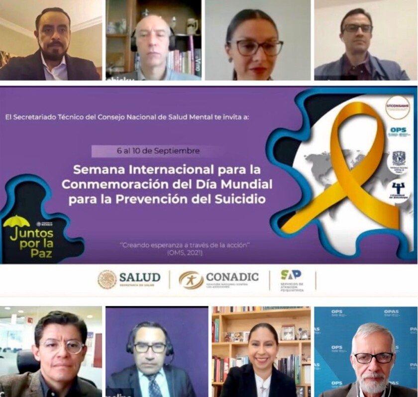 foro por el Día Mundial para la Prevención del Suicidio