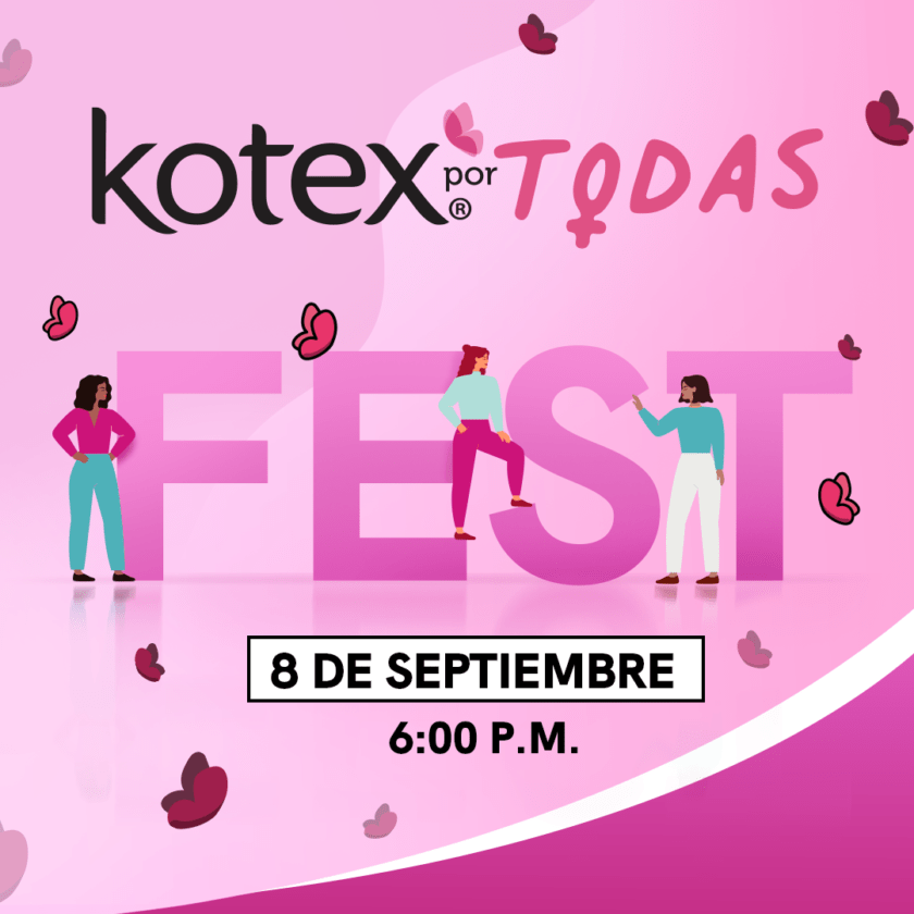 cartel  #KotexPorTodas.