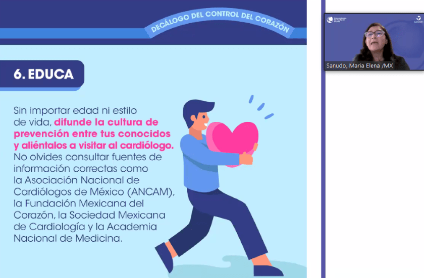 Decálogo del Control del Corazón, EDUCA