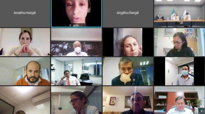 De manera virtual autoridades del Instituto realizaron su quincuagésima sexta reunión con las madres y los padres de menores con cáncer.