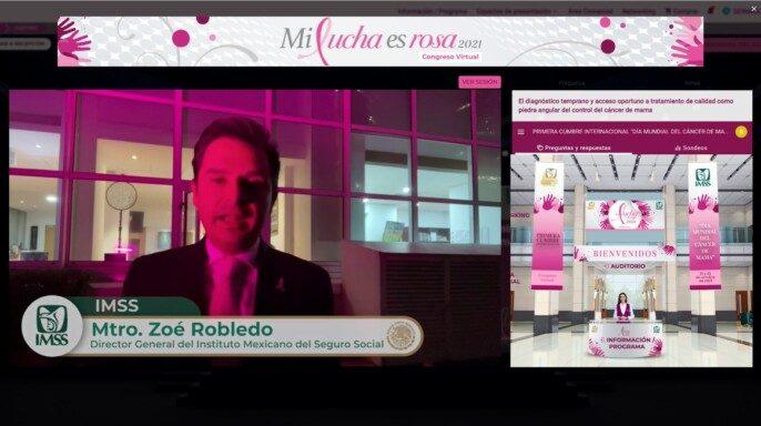 1er cumbre Internacional, Mi Lucha es Rosa, Día mundial del cáncer de mama